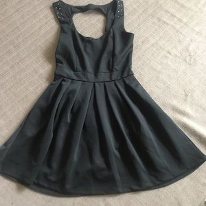 Black Dress with Open Back ( Juniors)